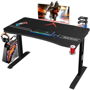 Furmax Gaming Computer Desk for $90