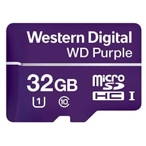 Western Digital WDD032G1P0A WD Purple 32GB Surveillance microSD Card for $14