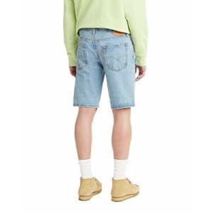 Levi's Men's 405 Standard Jean Shorts, Light Score - Light Indigo, 40 for $24