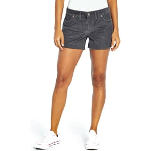 Gap Women's Cord Shorts for $12.98 for members