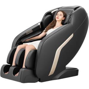 Coidak Zero Gravity Shiatsu Massage Chair for $649