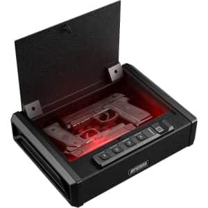 Aifeibao 2-Pistol Fingerprint Gun Safe for $65