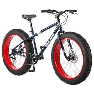 Mongoose Dolomite Fat Tire Men's Mountain Bike   17-Inch/Medium High-Tensile Steel Frame, 7-Speed, for $530