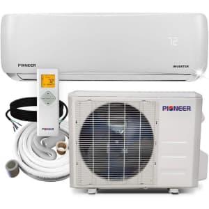 Pioneer Air Conditioner Inverter + Mini Split Heat Pump for $699