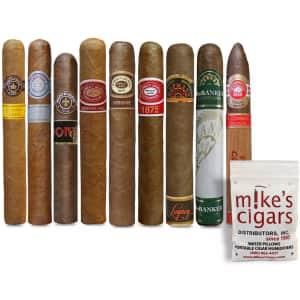 Mike's Cigars Cuban Presidential Selection 9-Piece Cigar Sampler for $45