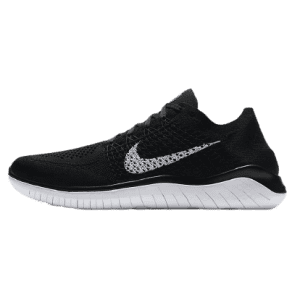 Nike Men's Free RN Flyknit 2018 Running Shoes for $68