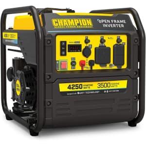 Champion Power Equipment 4,250W Inverter Generator for $604