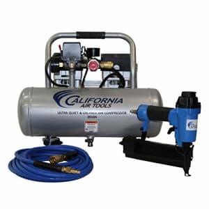 California Air Tools 2010AGK18 Ultra Quiet & Oil-Free 1.0 Hp, 2.0 Gal. Aluminum Tank Air Compressor for $315