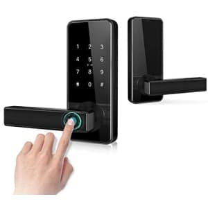 Nyboer Smart Keyless Entry Door Lock for $90