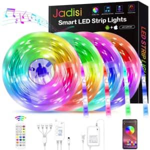 Jadisi 65.6-ft. LED Strip Lights for $22