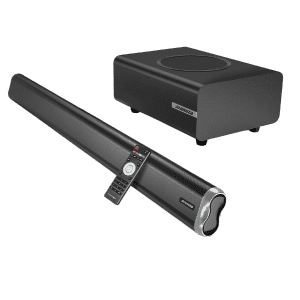 """Alongza 35"""" Sound Bar & Subwoofer for $80 w/ Prime"""