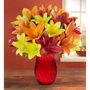 Autumn Lily Bouquet from $37