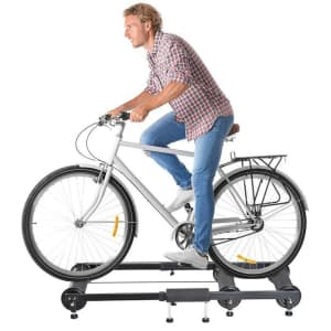 WFX Utility Indoor Bicycle Trainer Roller Frame for $107