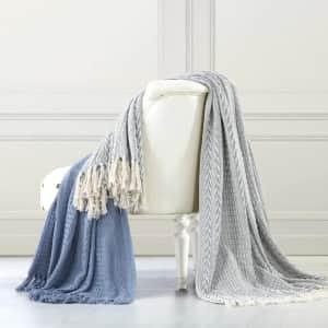Modern Threads Throw Blanket 2-Pack for $18