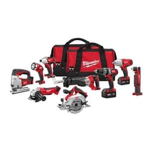 Milwaukee 2696-29 M18 Combo 9 tool Kit for $2,000