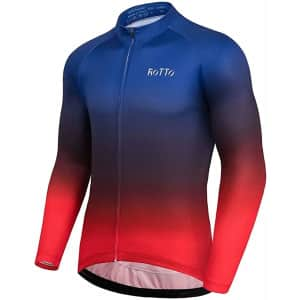 Rotto Men's Long-Sleeve Cycling Jersey from $14