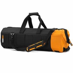 "ToughBuilt - 30"" Massive Mouth Tool Bag   65 Pockets & Loops, Padded Shoulder Strap, Heavy-duty for $108"