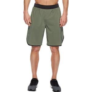 PUMA Men's Energy Laser Shorts, Castor Gray/Dark Gray Heather, L for $16