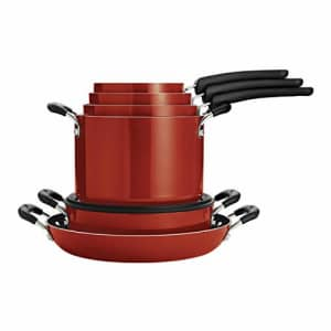Tramontina Nesting 11 Pc Nonstick Cookware Set - Red - 80156/042DS for $304