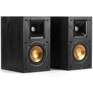 Klipsch Synergy Black Label Bookshelf Speakers 2-Pack for $151