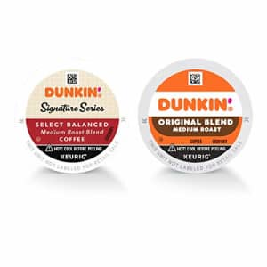 Dunkin Donuts Dunkin' Original Blend & Signature Series Select Balanced Blends Medium Roast Coffee, 60 K Cups for for $50