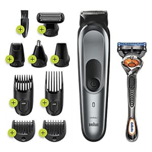 Braun 10-in-1 Rechargeable Face, Hair, & Body Styling Kit for $50