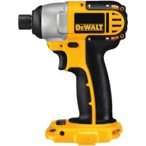 DEWALT 18V Impact Driver, 1/4-Inch, Tool Only (DC825B) for $186