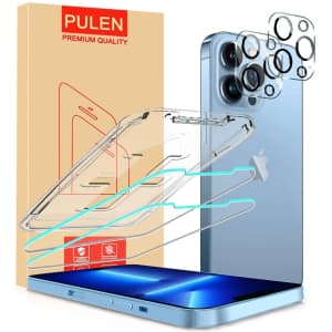 Pulen iPhone 13 Pro Max Screen Protector 2-Pack for $2