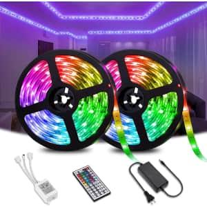Elfeland 33-Foot RGB LED Strip Light for $40
