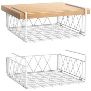 Bextsrack Under-Shelf Wire Basket 2-Pack for $20
