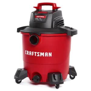 Craftsman 9-Gallon Corded Wet/Dry Vacuum for $50 w/ Ace Rewards