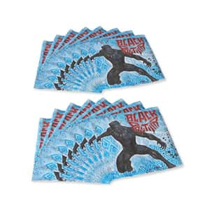 American Greetings Black Panther Party Supplies, Paper Lunch Napkins, 16-Count for $8