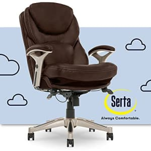Serta Ergonomic Executive Office Chair Motion Technology Adjustable Mid Back Design with Lumbar for $287