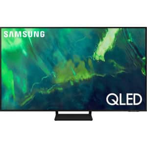 """Samsung Q70A Series 85"""" 4K Quantum HDR Smart TV (2021) for $2,798 w/ $600 Amazon credit"""