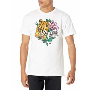 LRG Men's Spring 21 Graphic Designed Logo T-Shirt, Predator White, Small for $22