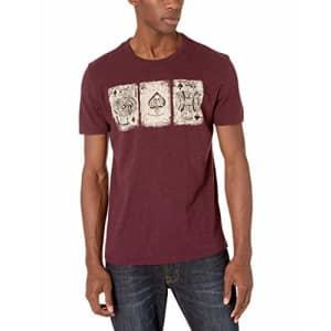 Lucky Brand Men's Poker Cards Tee Shirt, Port Royle, X-Large for $21