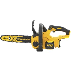 """DeWalt 20V Max 12"""" Compact Cordless Chainsaw for $131 in cart"""