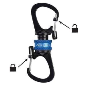Nite Ize Slidelock 360 Magnetic Locking Dual Carabiner for $7