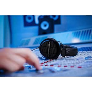 beyerdynamic Dt 990 Pro Over-Ear Studio Monitor Headphones - Open-Back Stereo Construction, Wired for $179