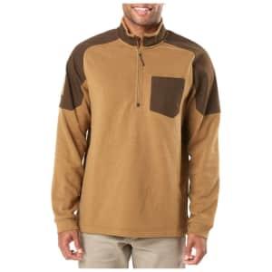 5.11 Tactical Men's 1/2-Zip Radar Fleece for $24