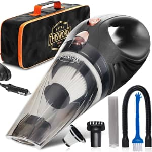 ThisWorx Portable Car Wet / Dry Vacuum Cleaner for $21