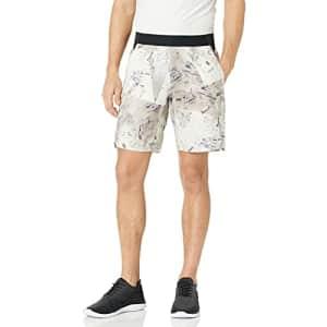 Reebok Men's One Series Training Shorts, boulder grey, Medium for $12