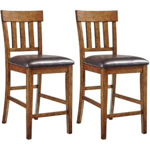 Ashley Furniture Signature Design by Ashley Ralene Set of 2 Bar Stools for $200