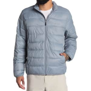 Callaway Golf Men's Faux Down Puffer Jacket for $22