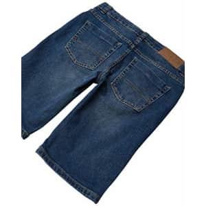 Tommy Hilfiger Boys' Stretch Denim Short, Canyon, 2T for $24