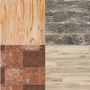 Flooring and Tiles at Home Depot: from $2.09/sq. ft.