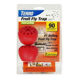 Terro Fruit Fly Trap 2-Pack for $6