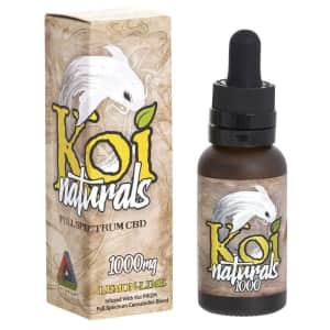 Koi Naturals CBD Oil Lemon-Lime 1-oz. Bottle for $53