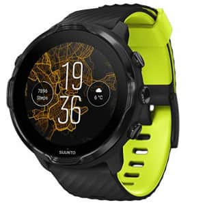 Suunto 7, GPS Sport Smartwatch with Wear OS by Google - Black/Lime for $390