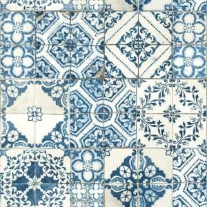RoomMates Mediterranian Tile Peel and Stick Wallpaper for $37
